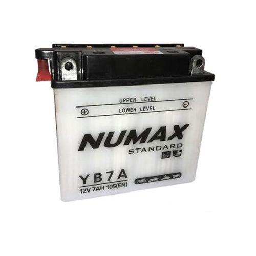 yb7a numax battery