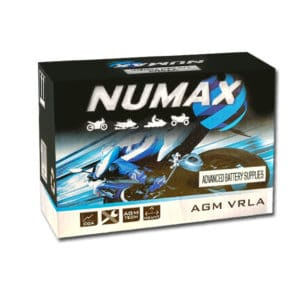 Numax Motorbike battery