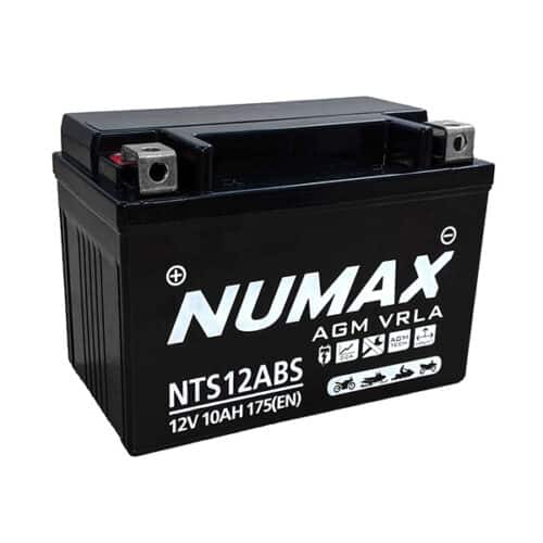 NTS12ABS numax motorcycle battery image