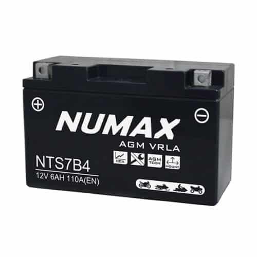 NTS7B-4 numax motorcycle battery image