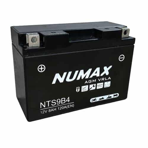 NTS9B4 numax motorcyle battery image