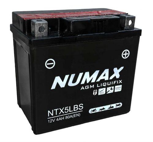numax ytx5lbs battery image