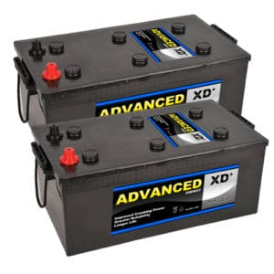 pair 624XD batteries