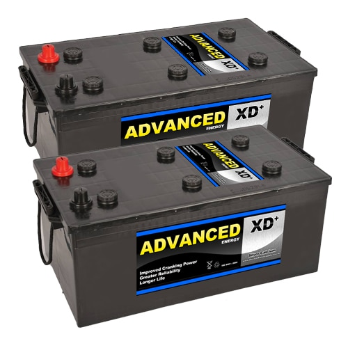 pair of 625XD batteries