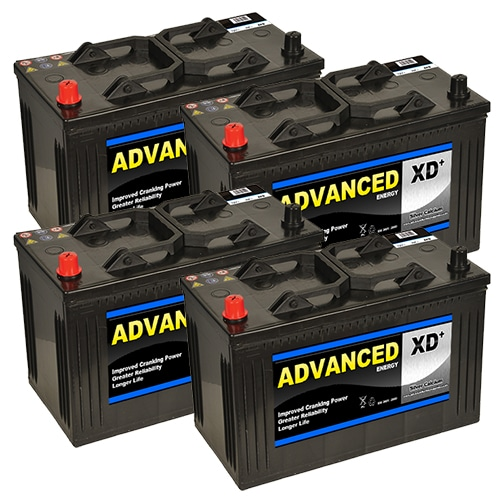 4 x 664xd batteries