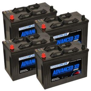 4 x 664xd car batteries