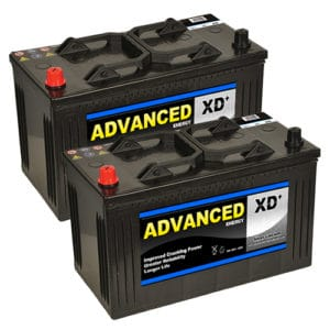 Pair of 664XD Batteries
