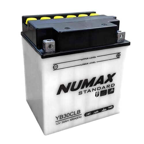 yb30cl-b numax motorcycle battery image