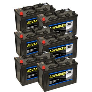 6 x 664xd batteries