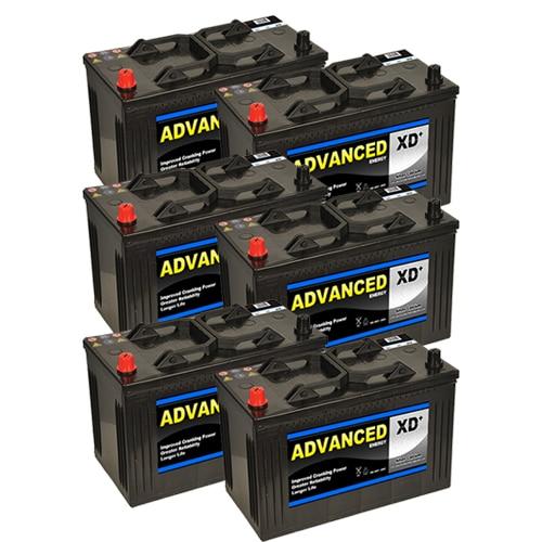 6 x 664xd batteries