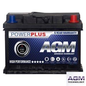 AGM 027 car battery advanced