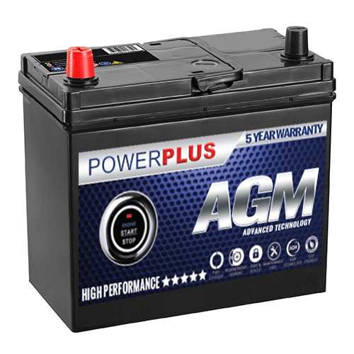 AGM 155 car battery image