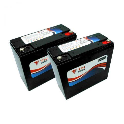 2x tn power 12v24ah batteries