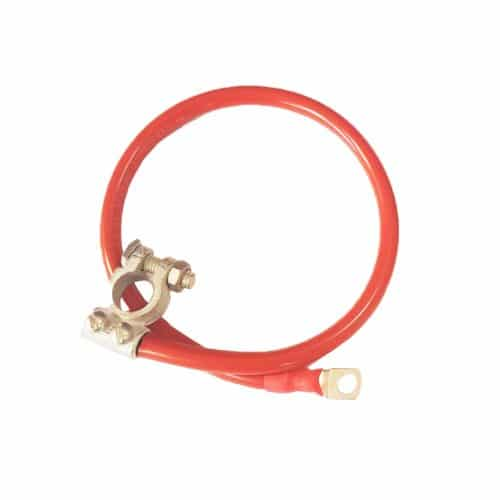 red eyelet and clamp battery link lead image