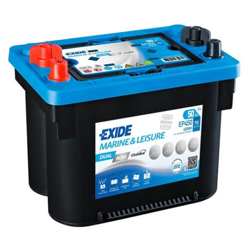 exide ep450 agm battery image