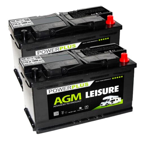 AGM LPX110 pair leisure battery image