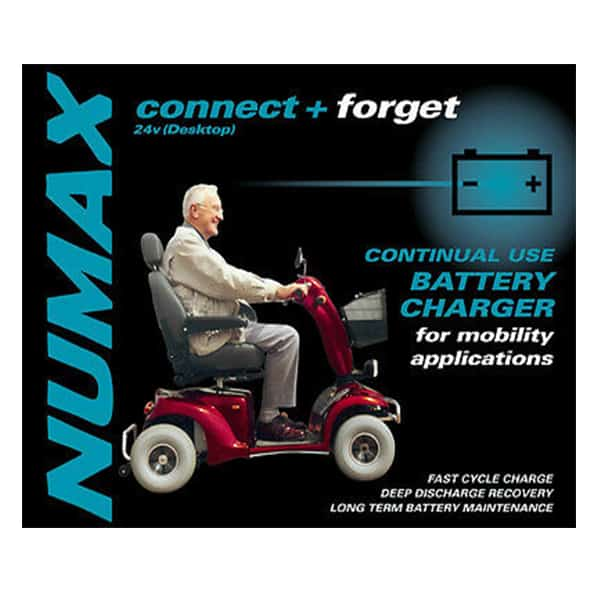 Mobility battery charger cover image
