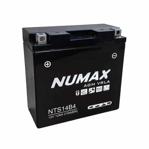 NTS14B4 numax motorcycle battery image