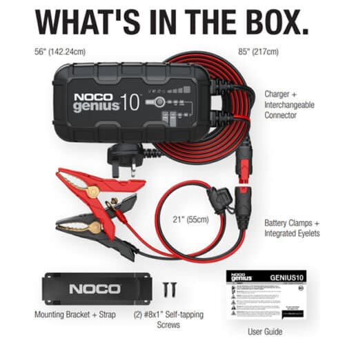 whats in the box genius 10 image