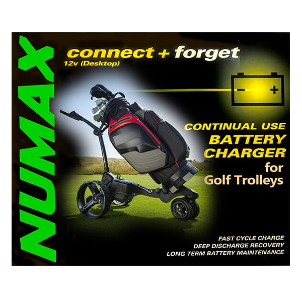 golf battery charger cover image