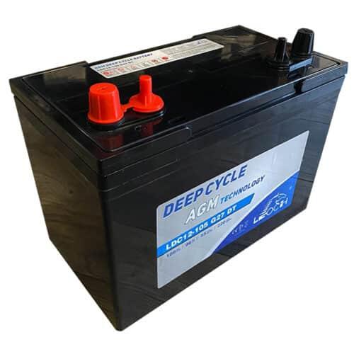 leoch ldc12-105 battery image 2