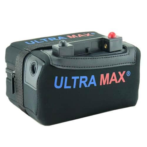ultramax lithium 18ah golf battery