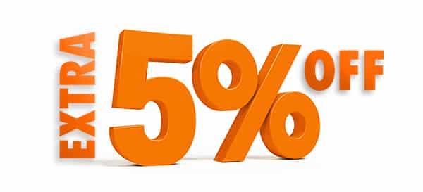 5% image discount