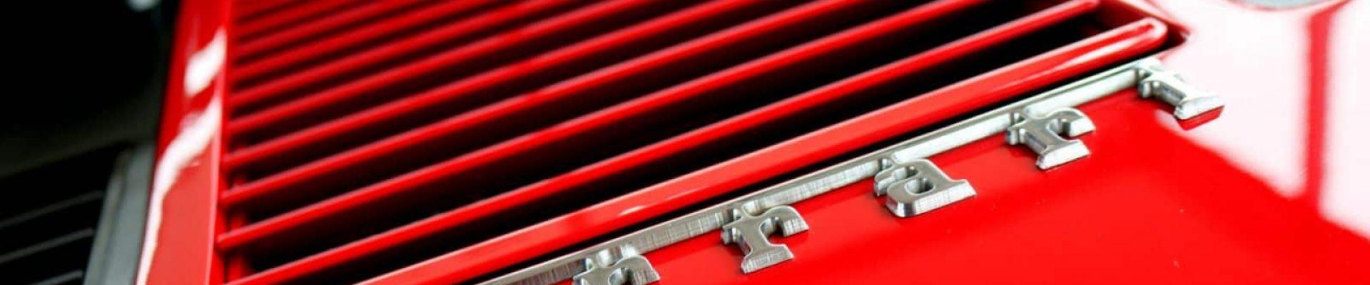 Ferrari Car Battery banner
